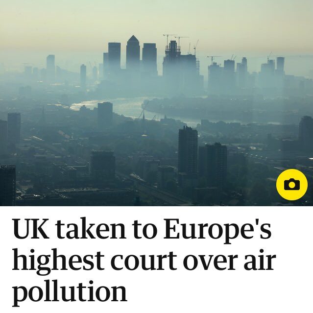 Bloody EU! Forcing us to breathe clean air, trying to save thousands of lives a year! How dare they! #BrexitNow