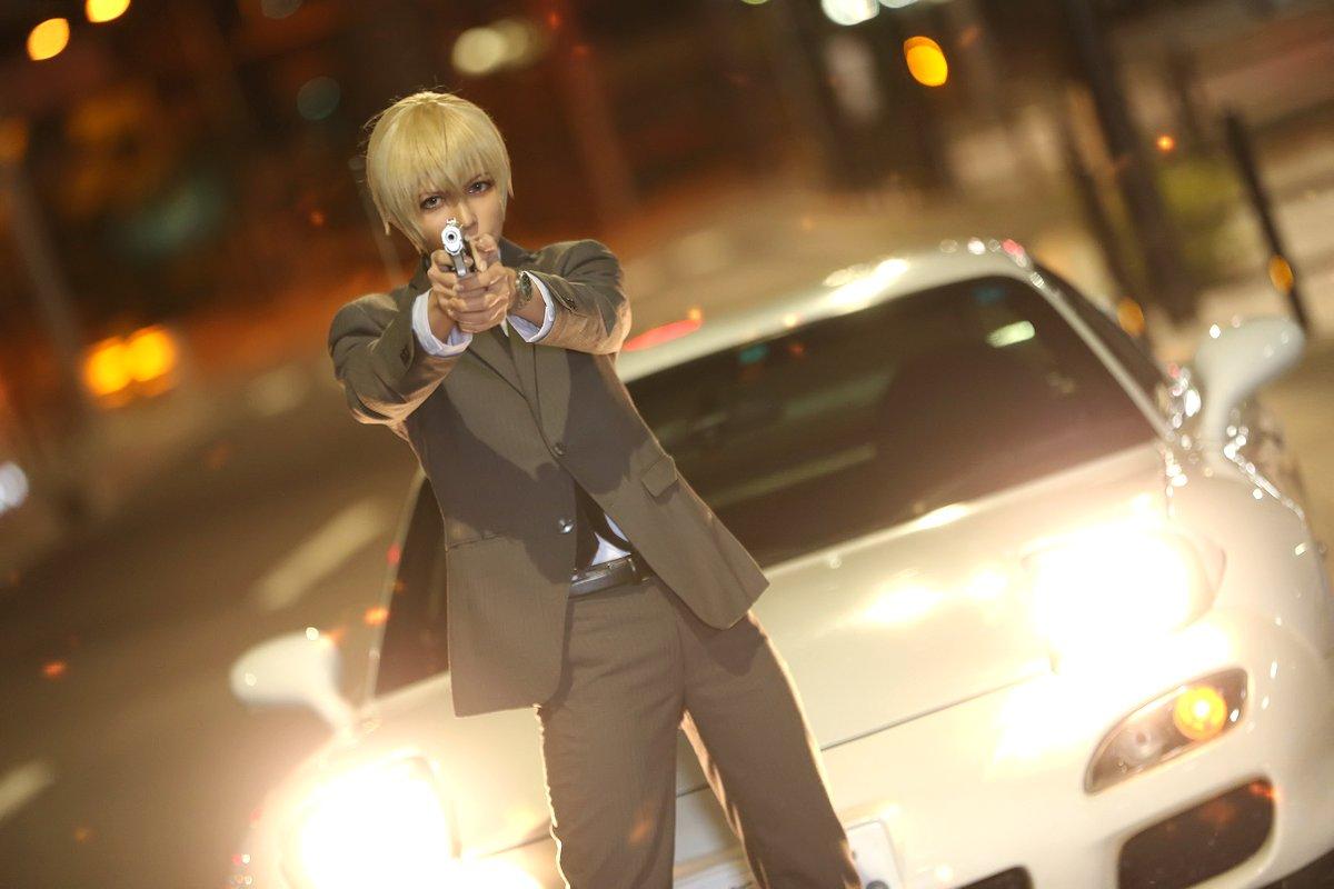 【コスプレ】 名探偵コナン🕵️  降谷 零 × RX-7  「 vs 正義を貫く者」  models: ウィルさん , RX-7 photo: okada assistant:嘉瑞さん