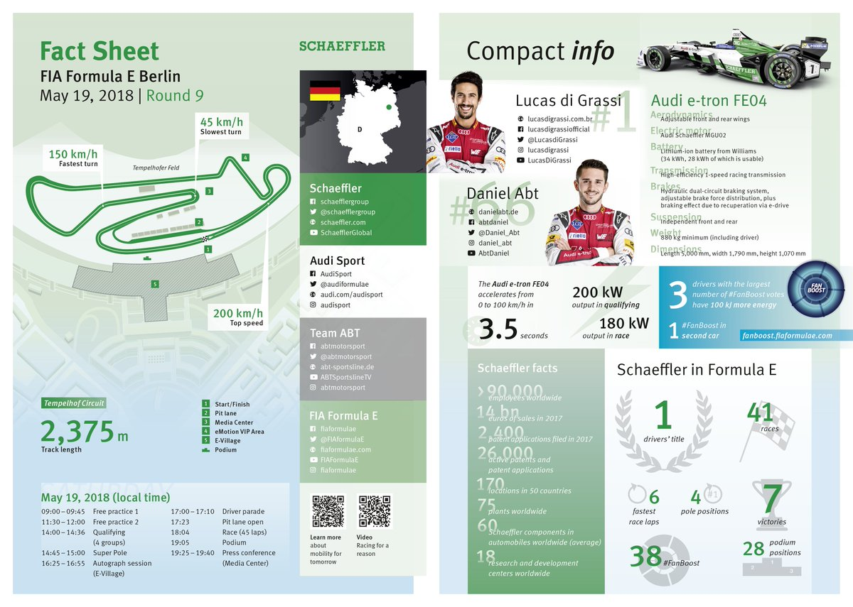 ... at #BerlinEPrix are online. Find all the key information here as an  ePaper http://bit.ly/2GsJ1PY and here as a PDF http://bit.ly/2GsJ2Dw .