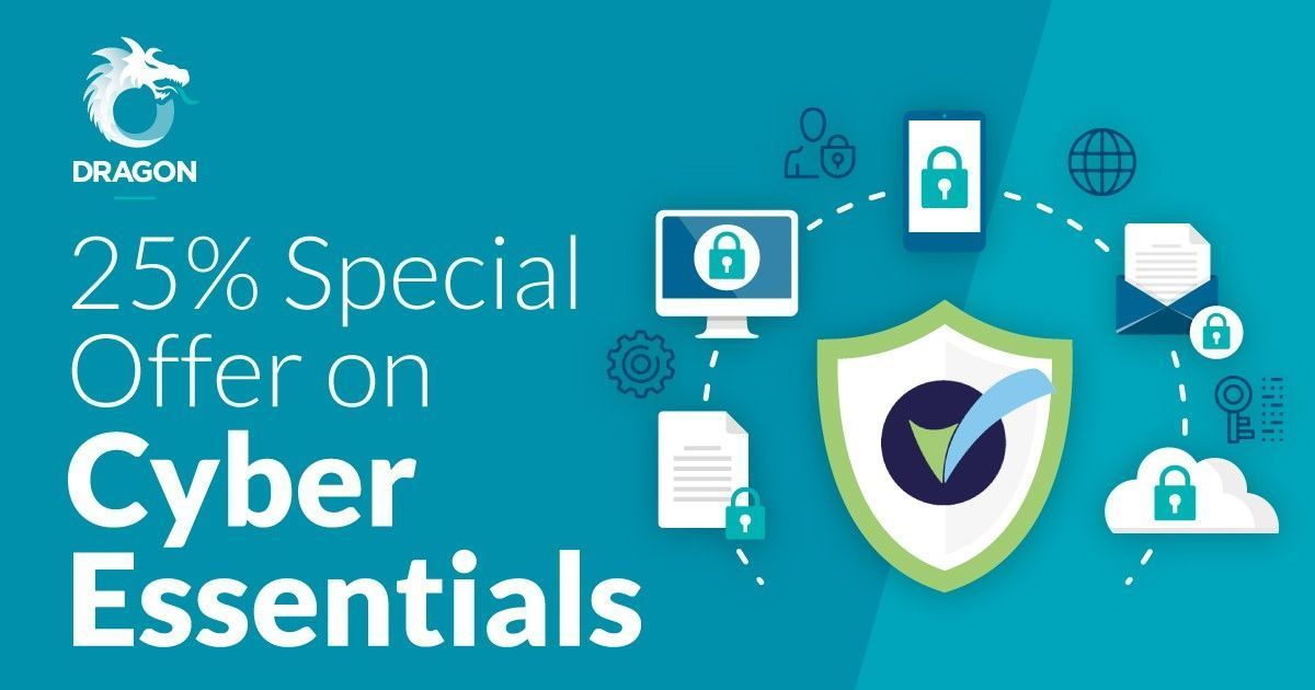 To set you on the right path to GDPR, we&#39;re giving new customers 25% off Cyber Essentials implementation if you book an appointment with Dragon IS to discuss your IT support needs before 31 May.  http:// bit.ly/2FCCodN  &nbsp;   #UKBizLunch #B2bhour #FlockBN #bizshoutuk<br>http://pic.twitter.com/PQ5LX13TV1