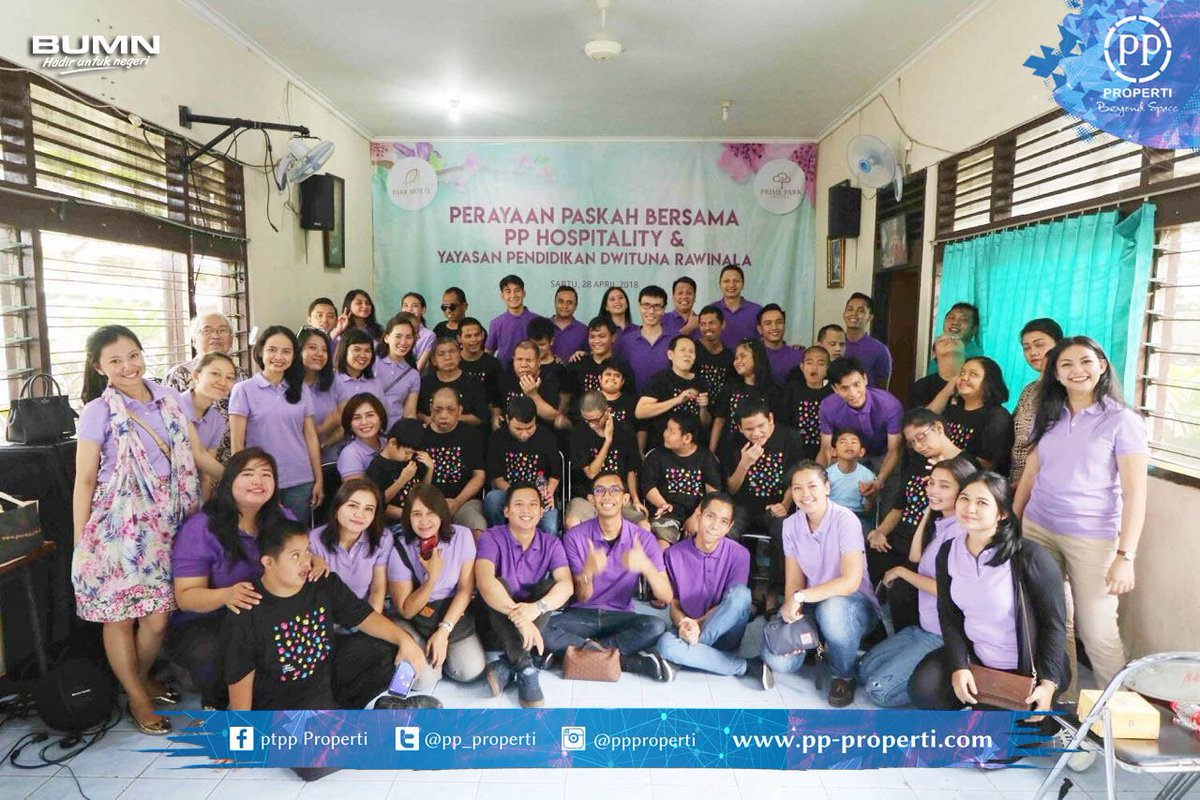 Pt Pp Properti Tbk On Twitter Pp Hospitality Celebrated Easter By Sharing Love And Joy With Special Children From Dwituna Rawinala Education Foundation 28 4 This Year The Event Was Specially Organized By