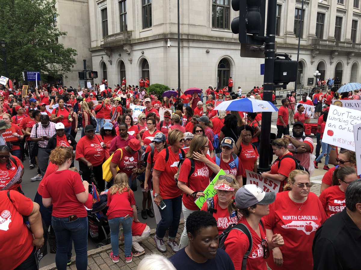 It's May 17 and I'm ready to be back with my kids. But I'm not going to forget the important work we did yesterday. NC teachers- there is still more fighting for our students. Don't give up!  #may16 #itspersonal #inthistogether #RED4Ed #red4ed #NCAEstrong <br>http://pic.twitter.com/FMlfg90dpW