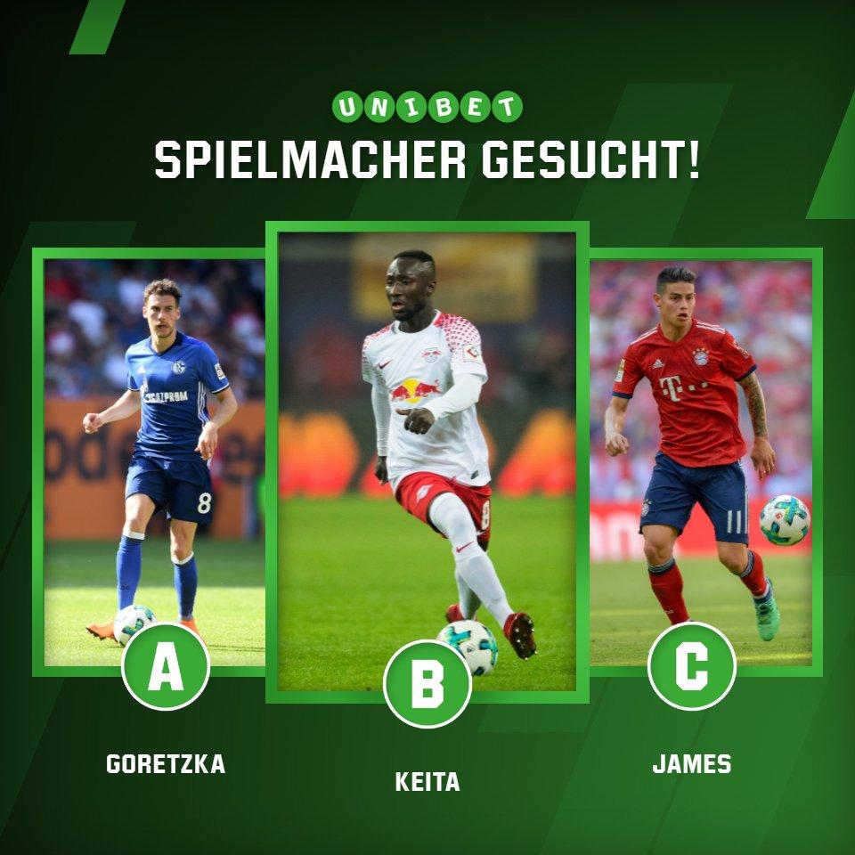Jetzt mitmachen, abstimmen und gemeinsam die Mannschaft der Saison wählen! Wer war für dich der Spielmacher in dieser Saison? #Bundesliga #Goretzka #Keita #James