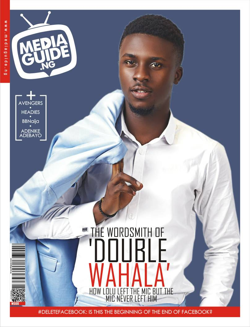 #BBNaija star Lolu covers Media Guide Magazine Latest Edition