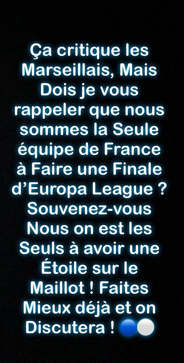 À tous mes Rageux. Y'a qu'une seule Équipe qui fait vibrer la France.  #OM #OMATM #OMAtleti #FinalEuropaLeague #ForzaOM  - FestivalFocus