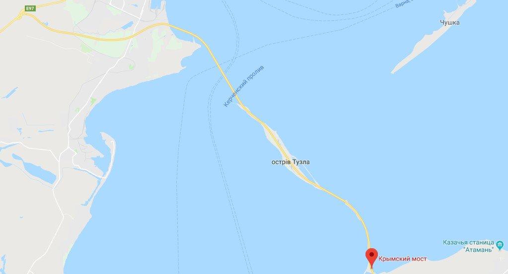 Sharij Net On Twitter Krymskij Most Poyavilsya Na Google Maps Https