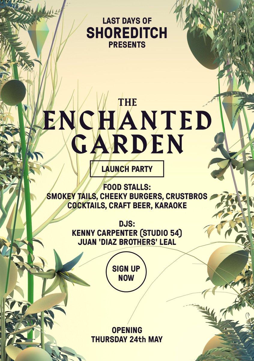 "Shoreditch Gardens: LastDaysofShoreditch On Twitter: ""Next Weekend We Finally"