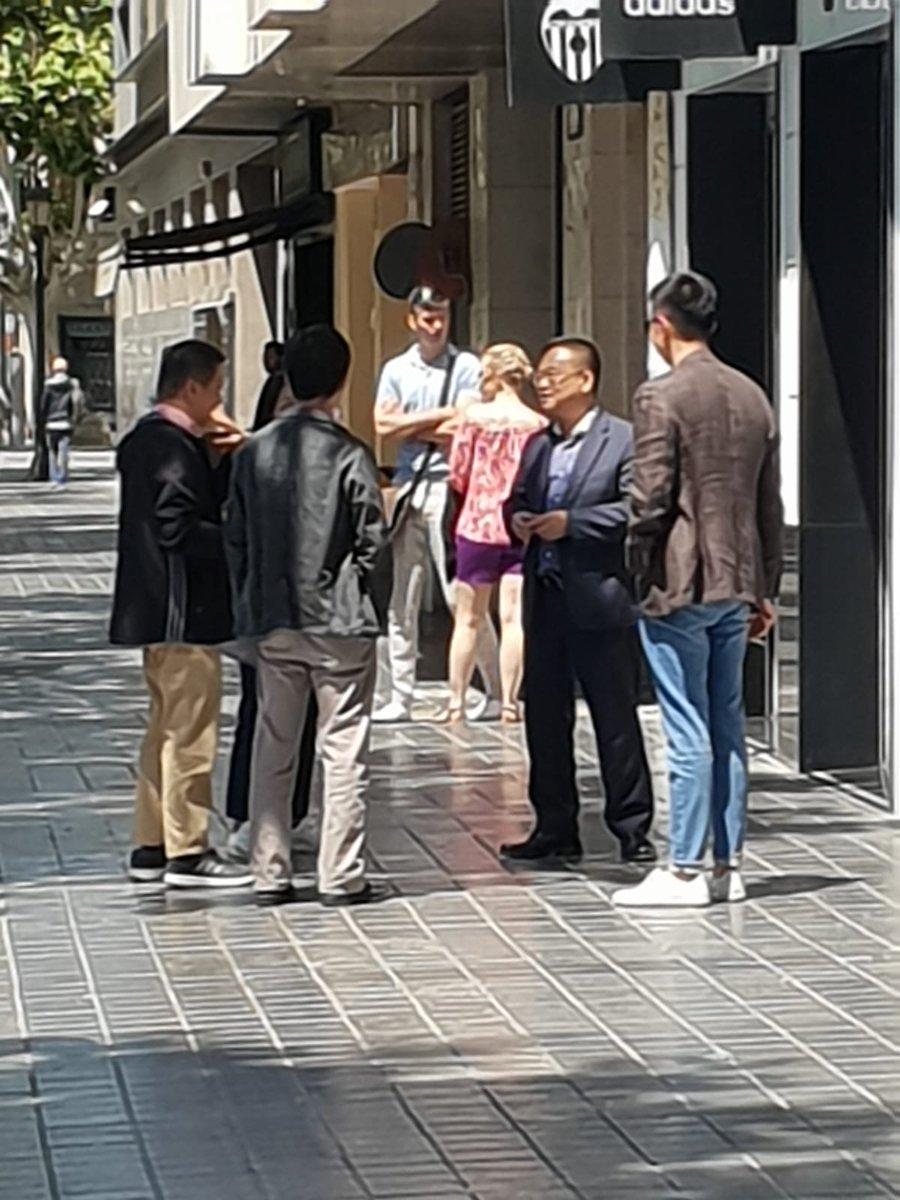 Radioesport valencia on twitter visita de chen yansheng for Valencia cf oficinas