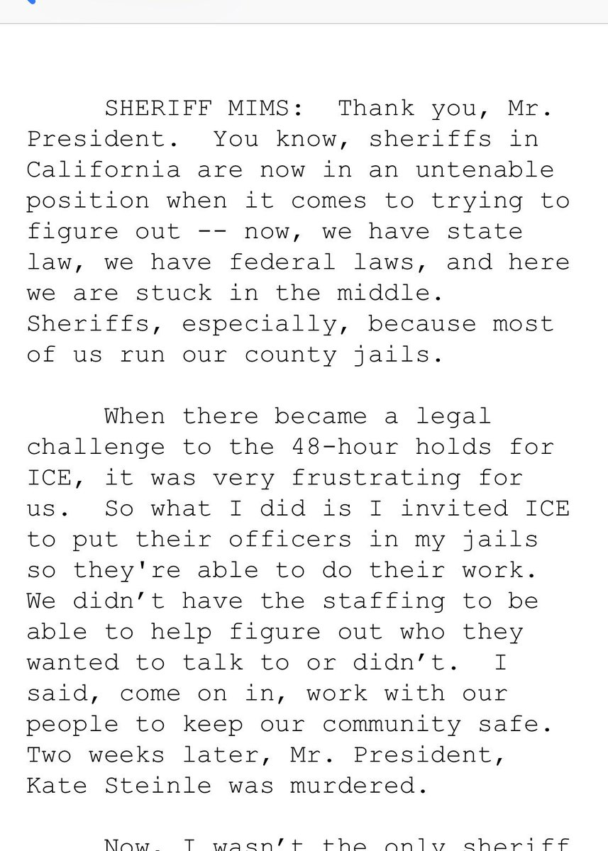 "Here is the full context of President Trump's ""animals"" comment during the immigration/sanctuary city roundtable, which came as a Sheriff was complaining about restrictions placed on ICE databases, and MS-13 gang members."