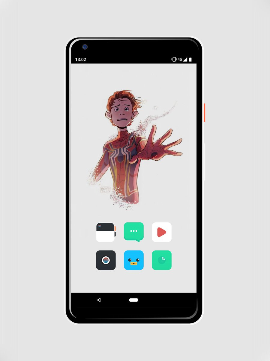 Please don&#39;t go Spidey!! Icons by @paulebh0y #antitheme and the wall I found online and edited slightly for phone  sticking with this for a bit. #Android #Google #pixel2xl #klwp #showyourhomescreen <br>http://pic.twitter.com/eHlhEZngyx