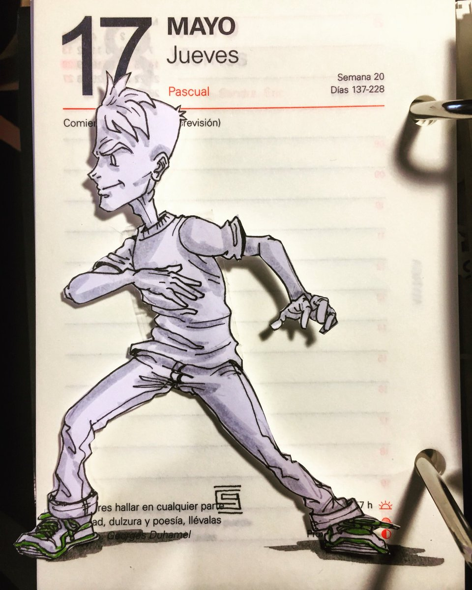 I'm ready for you Thursday! I've got my running shoes ready, let's go!! #calendarcomic #officeart #thursdaymotivation #thursday #jueves #jeudi #dibujo #dessin #drawing #running #letsgo #dailydoodle #doodleoftheday<br>http://pic.twitter.com/oywYvCJVl6