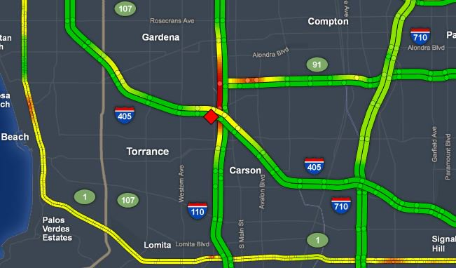 Abc7 Traffic Map.Abc7 Eyewitness News On Twitter Trafficalert Fatal Crash Prompts
