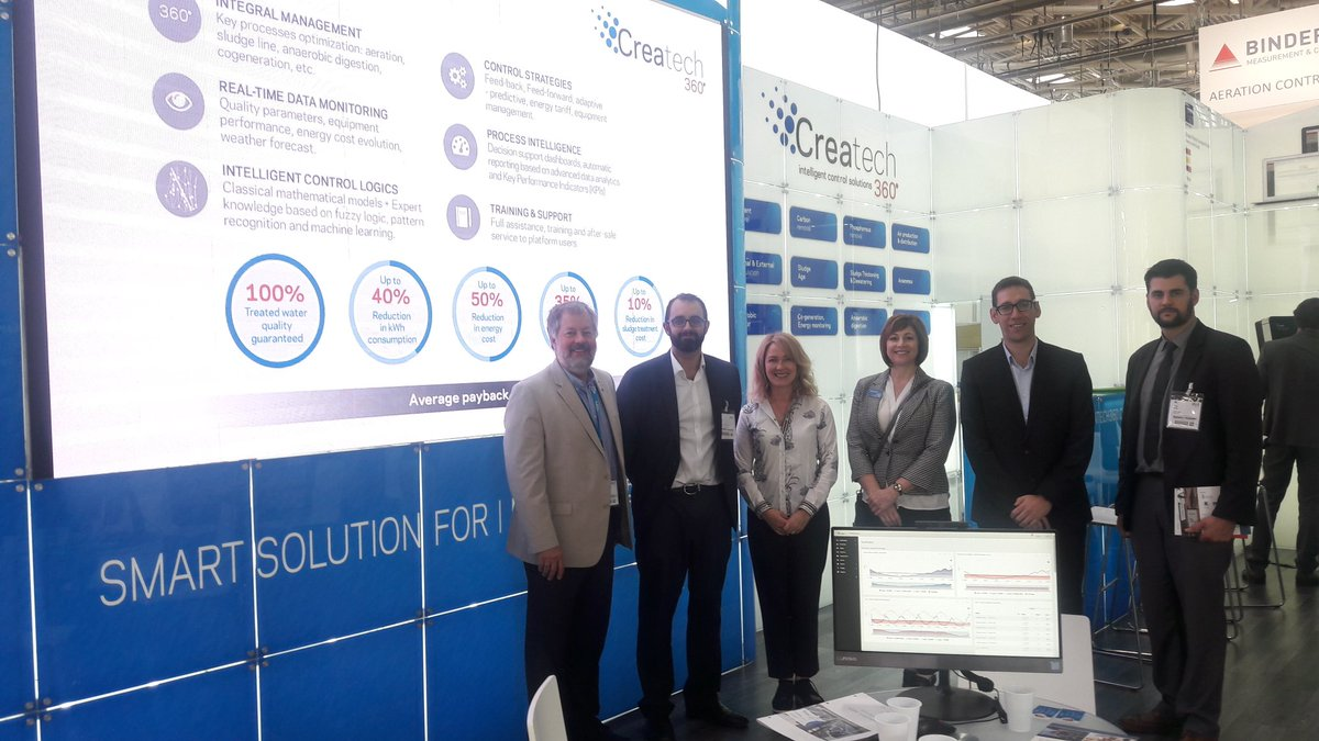 We are very happy to host a meeting with Milwaukee @TheWaterCouncil in our #IFAT2018 booth and to share common future challenges related to water! Hope to see you very soon in the US! @IFATworldwide<br>http://pic.twitter.com/na9MJJWFQq