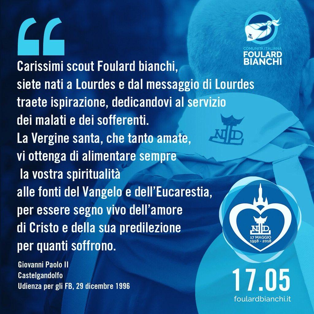 Foulard Bianchi's photo on #Lourdes