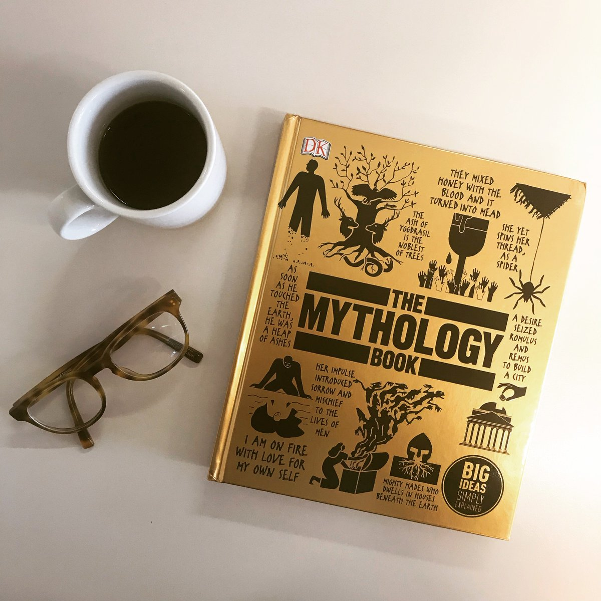 Dk Books Uk On Twitter Treat Yourself To A Cup Of Coffee Hours The Couch And Golden Gem Book Dive Into Mythology