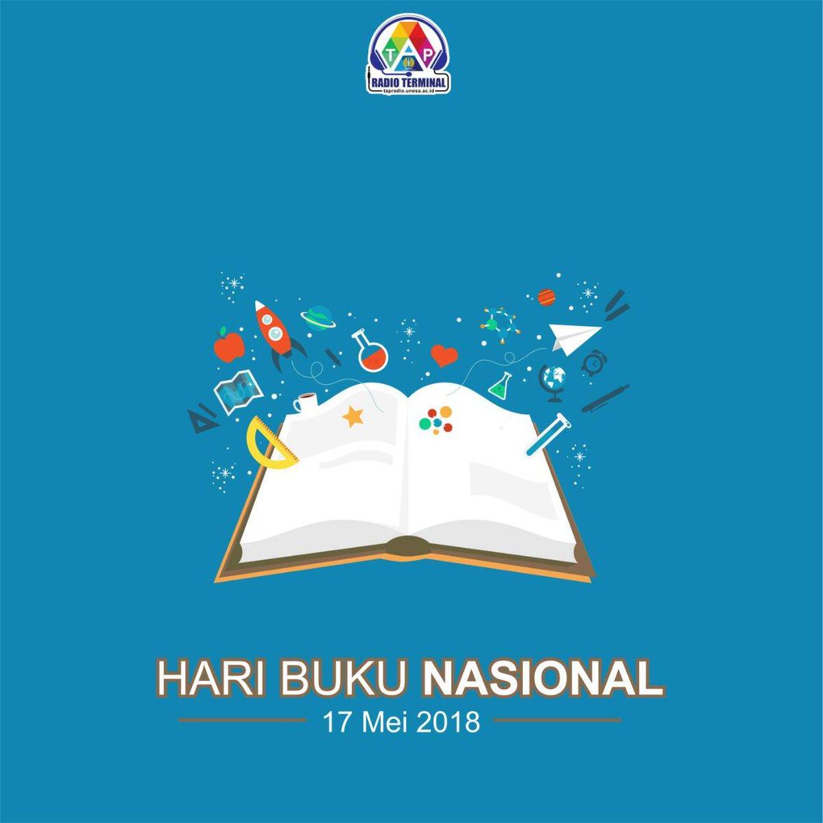 Radio Terminal Unesa On Twitter Selamat Hari Buku Nasional 2018