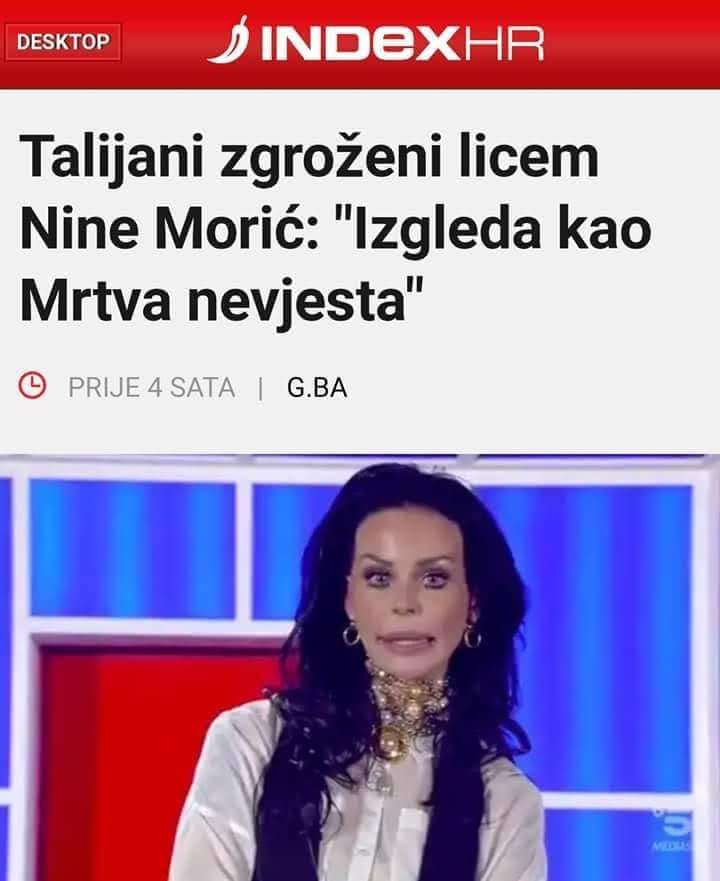 Natasa Zecevic's photo on Nina Moric