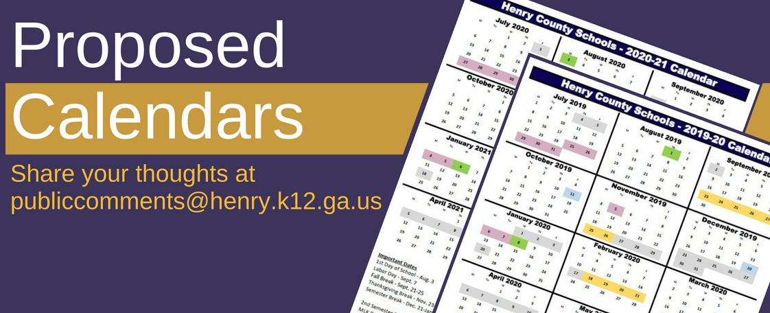 Henry County Schools Calendar 2020-21 Henry County Schools on Twitter:
