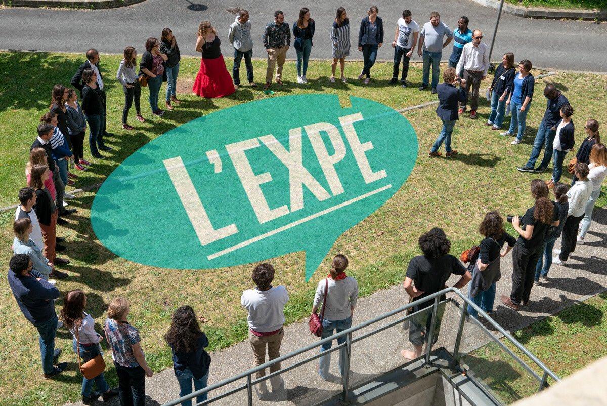 Le festival experimentarium @ReseauExpe #festexpe2018 débute à Rouen. 3 jours de rencontres avec le public et entre doctorants  @fc_univ @bfc_region#dijonais #marseillais #rouanais #guyanais  - FestivalFocus