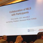 We are so proud of our CEO Chris Carrillo ( @metromls ) and Chairman Joe Horning (@Shorewest_RE )for their presentation in Washington D.C. this morning regarding Collaboration of MLS with Participants.  #InnovationProud