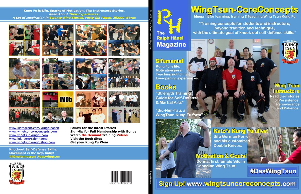 Ralph haenel kungfucoach twitter the blueprint for learning training and teaching wing tsun kung fu malvernweather Images