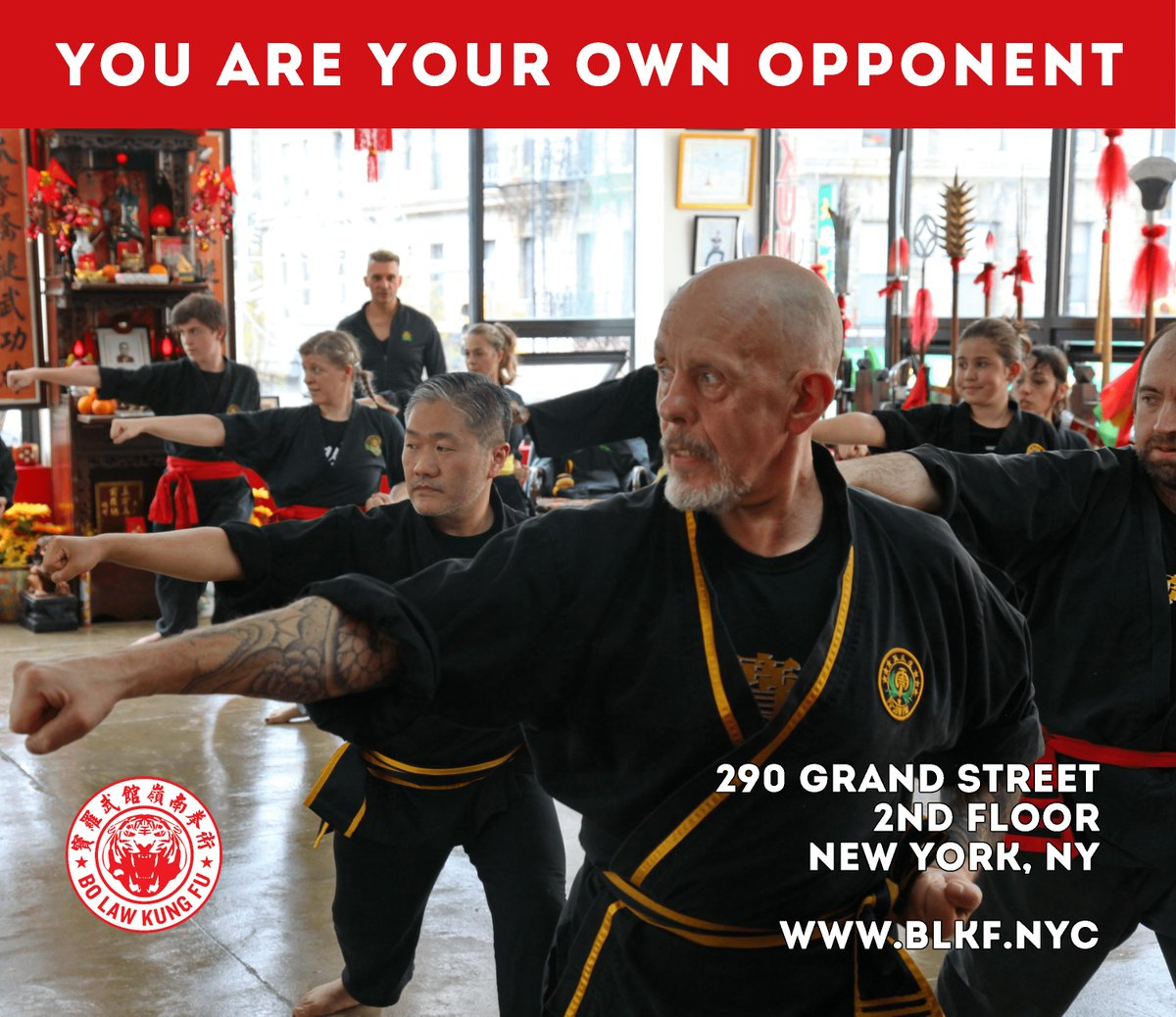 Bo Law Kung Fu On Twitter You Are Your Own Opponent