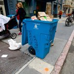 Image for the Tweet beginning: SF's Trash-Sorting Laziness is Killing