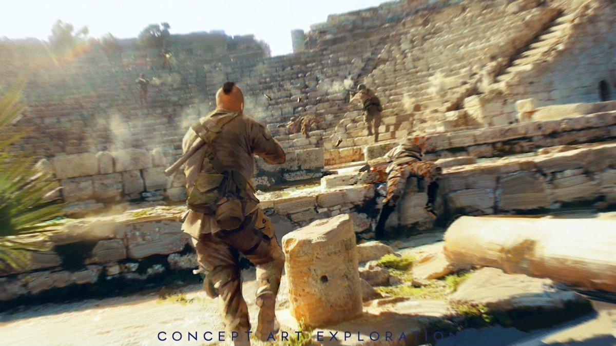 Battlefield bulletin on twitter more concept art - Battlefield v concept art wallpaper ...