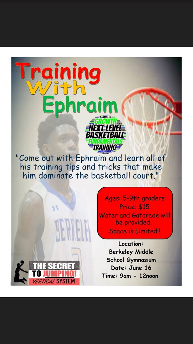 Y'all bring your Lil cousin , brothers, nieces , sister etc. we gone have a ball and get better . Drinks and snacks will be provided . Please support this good cause for the youth  <br>http://pic.twitter.com/pIxtukH7zr