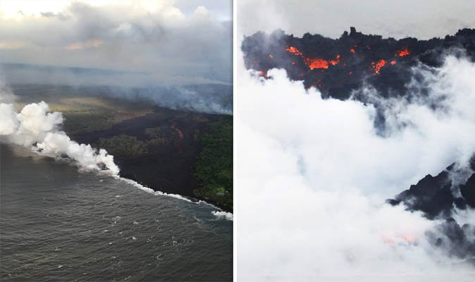 Hawaii volcano eruption: Why is lava flow into ocean dangerous? WARNING of new channels https://t.co/nmh68GbC2Z