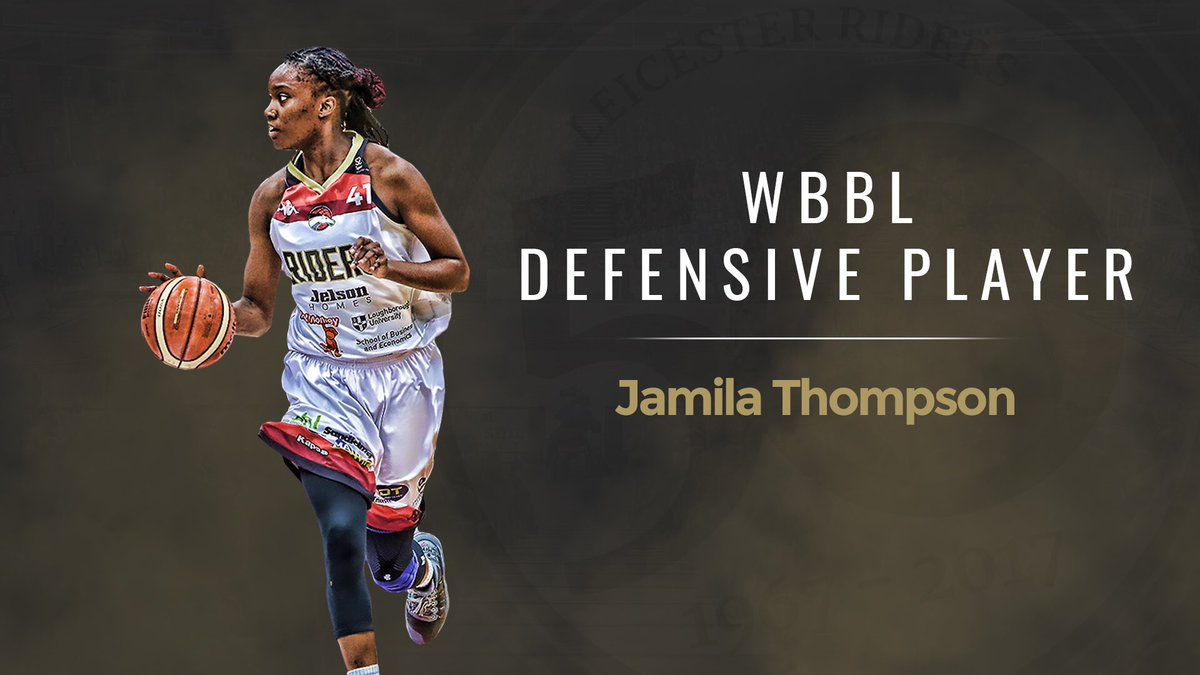 Congratulations to @igotjams on being named Defensive Player of the Season for @RidersWomen at the Riders Pathway Awards!   #BritishBasketball<br>http://pic.twitter.com/NL7htMm7ba