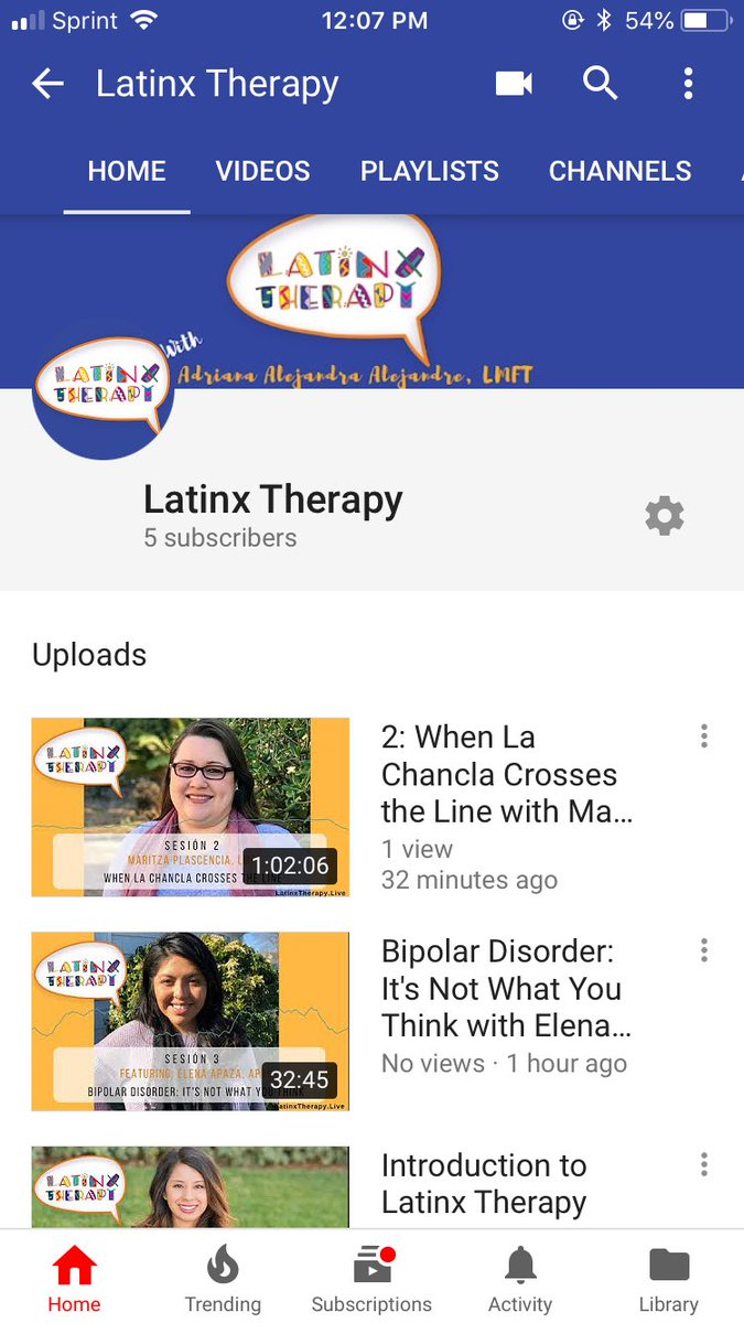 Latinx Therapy- Podcast & Directory on Twitter: