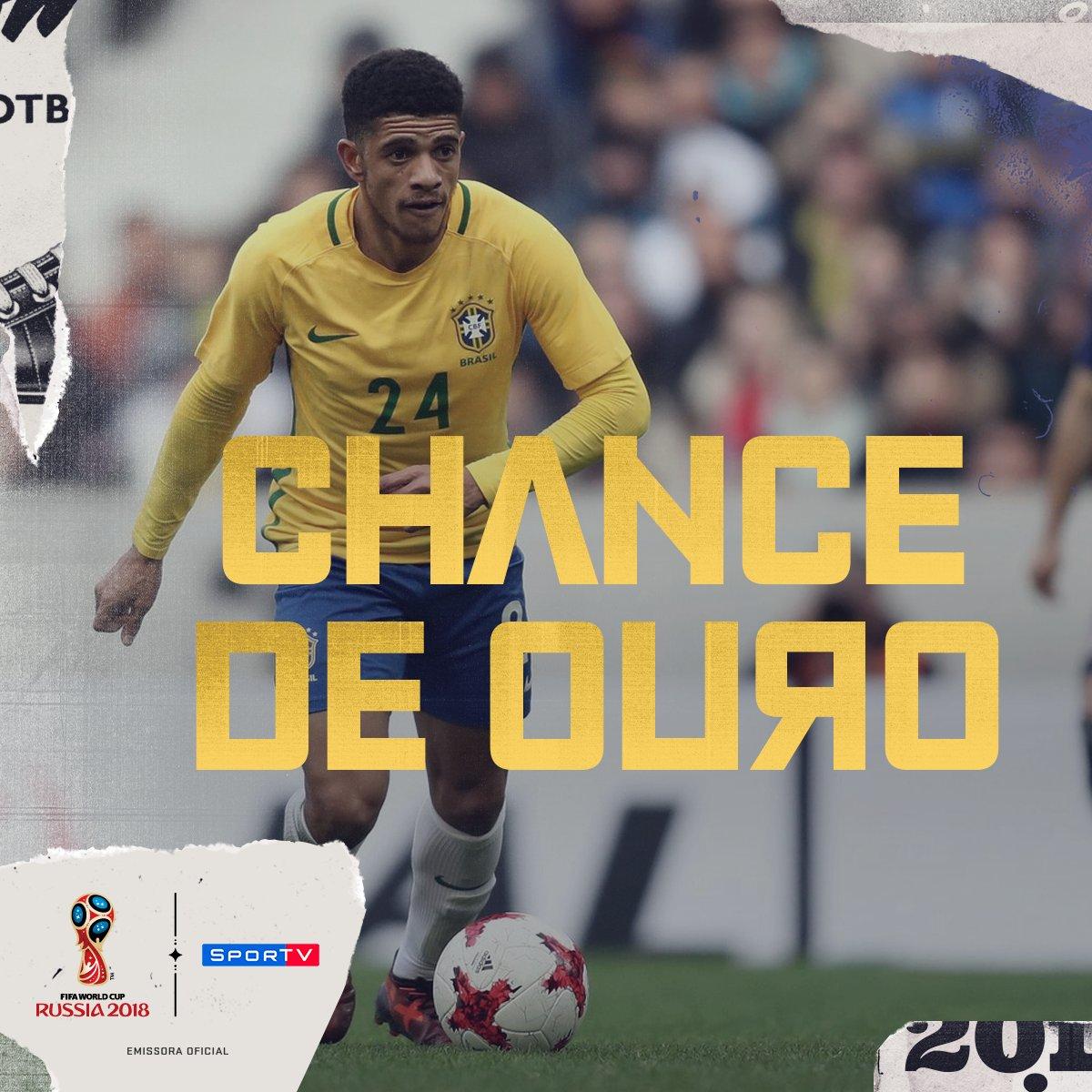 Neymar e Douglas Costa não devem ter condições de jogar o amistoso contra a Croácia! Com isso, Taison tem a oportunidade de mostrar porque foi convocado!  Acompanhe os jogos da #NossaSelecao no SporTV! #SouSporTVnaCopa
