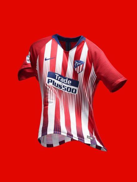 Le maillot domicile de l'Atletico Madrid 2018-2019  - FestivalFocus