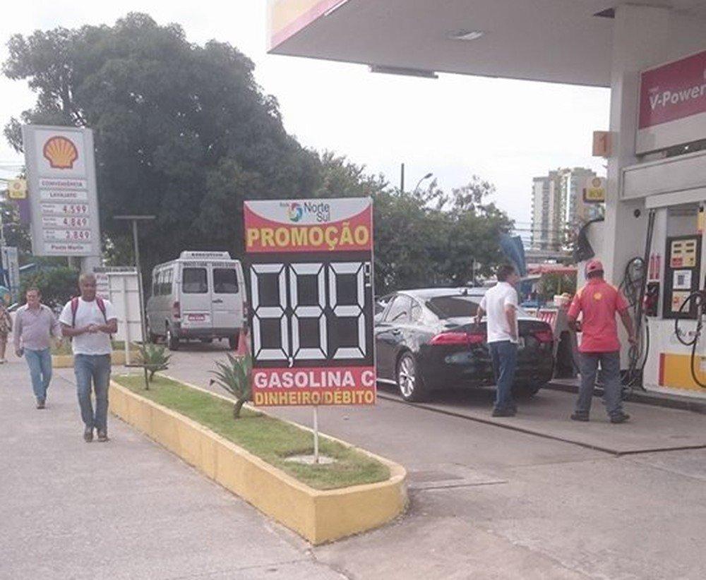 Gasolina que custava R$ 3,49 de manhã é vendida a R$ 8,89 à tarde em Vitória https://t.co/y5wcRLgXKn #greve #G1