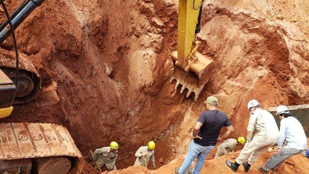 Dois trabalhadores morrem soterrados em obra em Goiânia https://t.co/BrSLYrAnWl