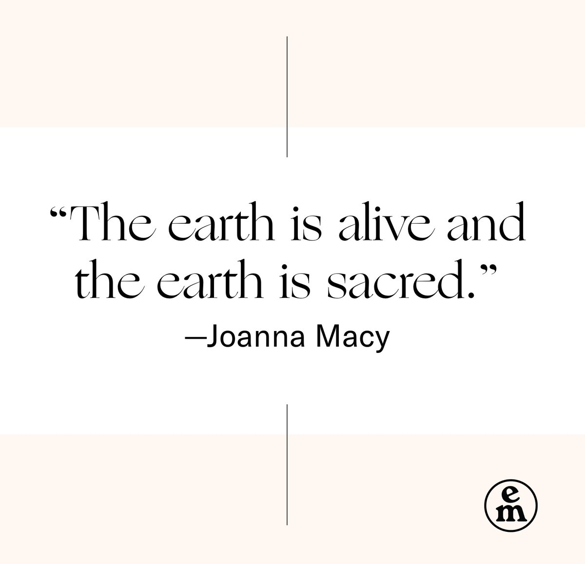 RT @emergence_zine Back in October, our executive editor @evaughanlee had the opportunity to sit down with Joanna Macy to discuss her life's journey into anti-nuclear activism, #Buddhism, and #deepecology. Listen to the interview on our website or via our podcast: https://t.co/dDbbtfH6VJ