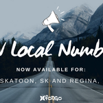 #ATTN: NEW LOCAL NUMBERS ADDED 📣   We have added new #Saskatchewan numbers for Fongo Mobile and Fongo Home Phone! The new local numbers are now available for: Saskatoon, SK and Regina, SK