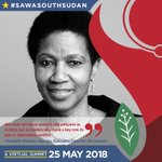 Image for the Tweet beginning: Celebrate #AfricaDay by joining #SawaSouthSudan,