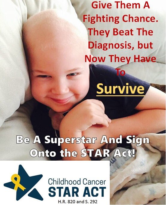 @POTUS @realDonaldTrump @FLOTUS @MELANIATRUMP @IvankaTrump @DonaldJTrumpJr  MR. PRESIDENT, PLEASE SIGN THE #STARAct TO MAKE CHANGE FOR MY SON AND SO MANY OTHER CHILDREN IN AMERICA #ChildhoodCancer<br>http://pic.twitter.com/EdX9RBSirb