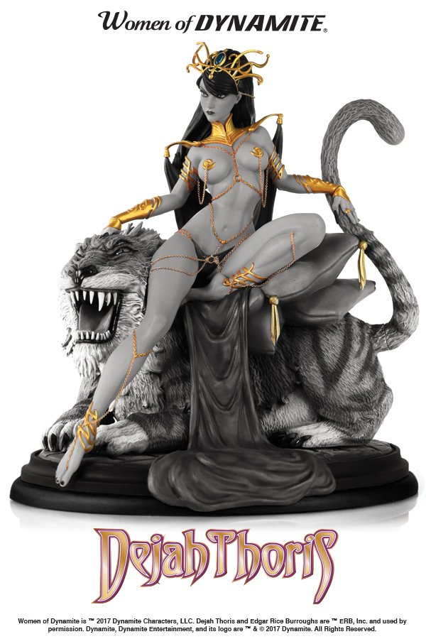 Only 18 hours left to get the @JScottCampbell Dejah Thoris at its lowest possible price! It's fully FUNDED! No reason not to pre-order! #Kickstarter kck.st/2GCWKnm