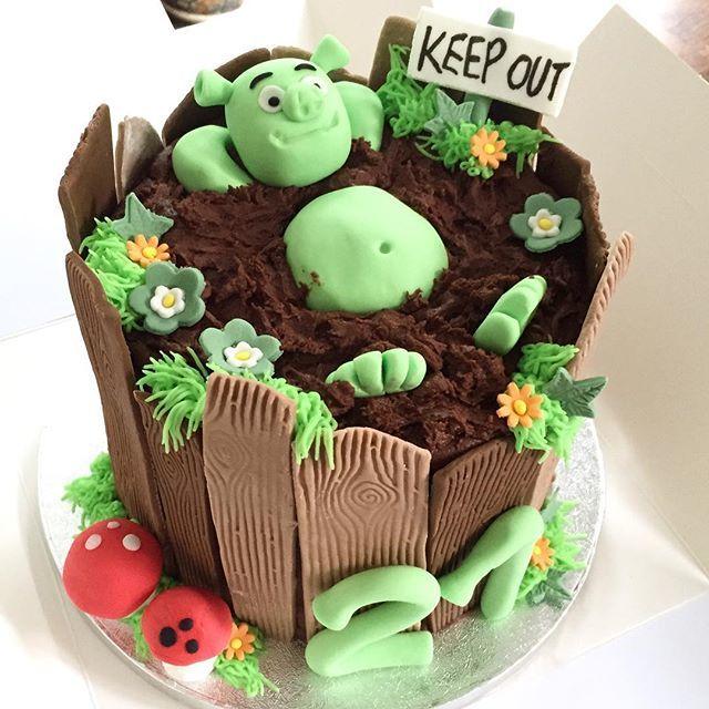 Magnificent Shrekcake Hashtag On Twitter Funny Birthday Cards Online Elaedamsfinfo