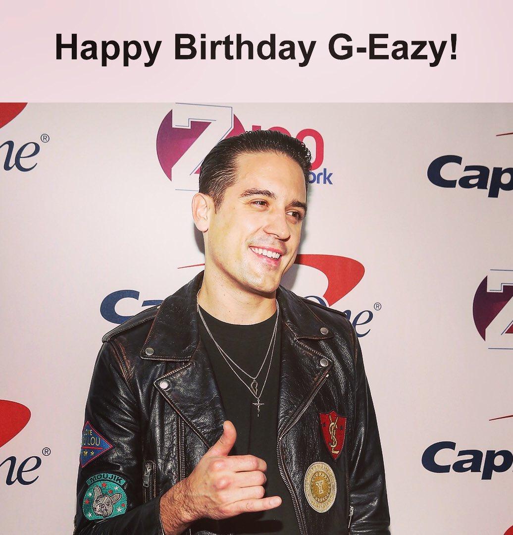 Happy birthday @G_Eazy 🎈🎊💯