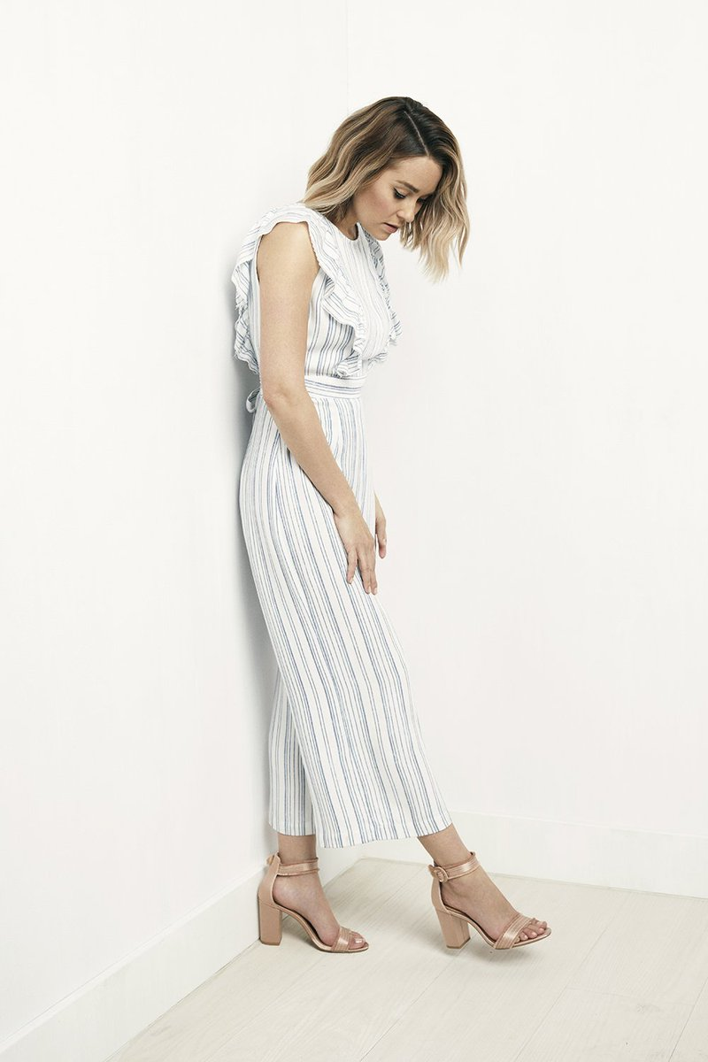 216aaa99b8e LaurenConrad is looking très chic in this  LCLaurenConrad Striped Ruffle  Cropped Jumpsuit! Shop it now at  Kohls  http   bit.ly 2LalIOO  pic.twitter.com  ...