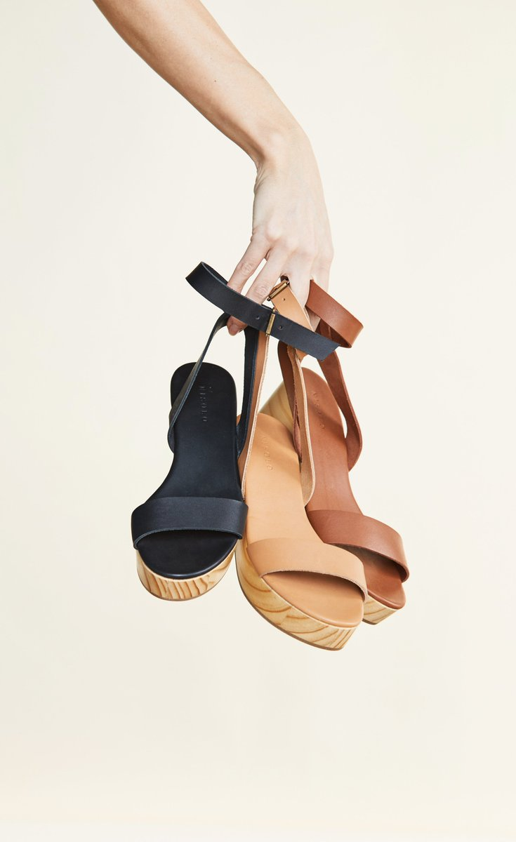 0db7fea77a Shop the Sarita Wooden Wedge in black, tan, and whiskey: https://nisolo .com/products/sarita-wooden-wedge-sandal-tan …pic.twitter.com/wyHAsMWjzR