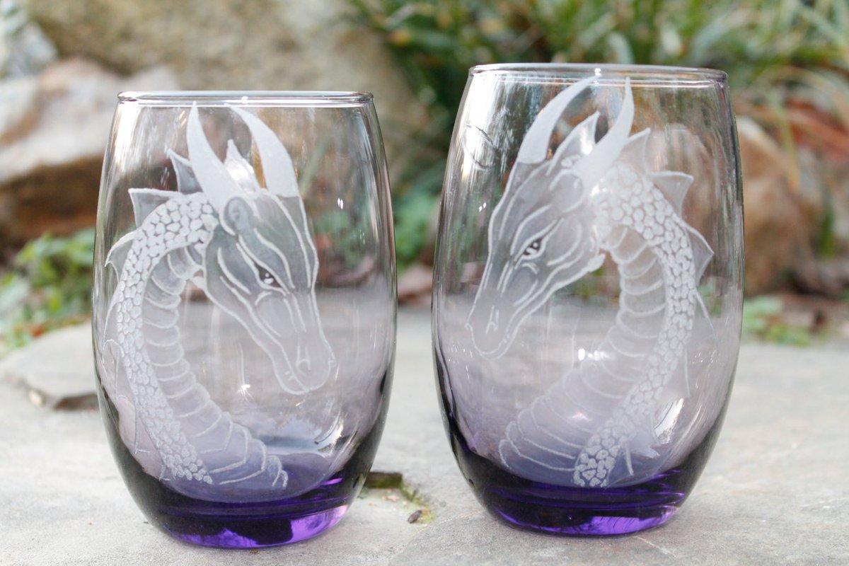 Печать на стеклянных стаканах. Деколь логотипа.