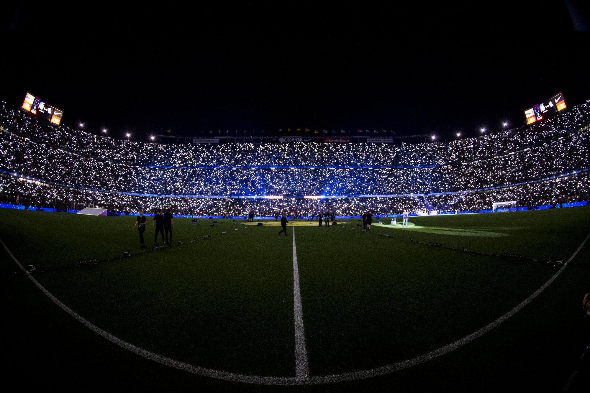❤️ Camp Nou. Our home �� Good night Barça Fans!  ���� https://t.co/vtw4wPaeX2