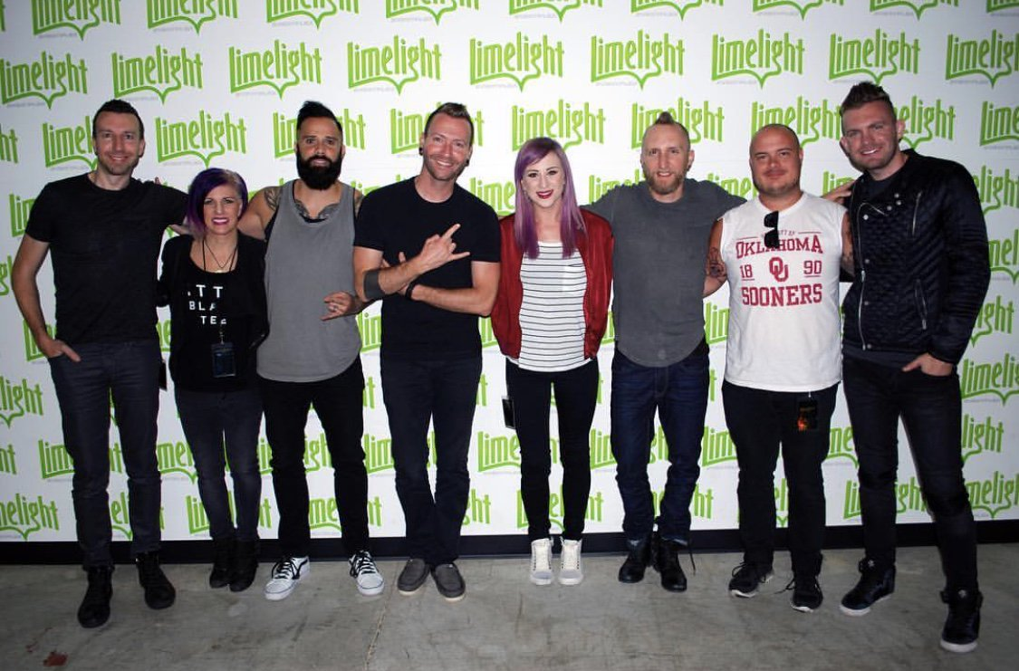#TBT to #unleashedtour with @skilletmusic. This crew knows how to RAWK!