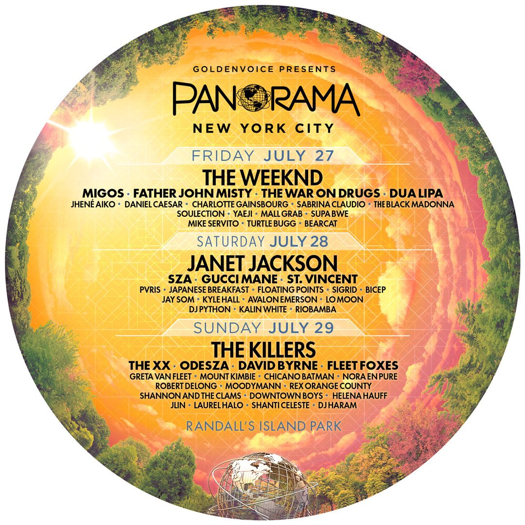 .@panoramanyc Friday July 27 Get Your Tickets panorama.nyc