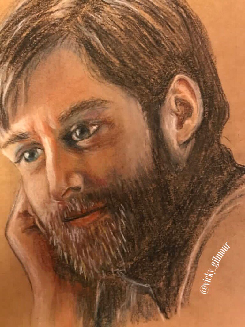 These are so lovely! @vicky_gilmour has shared sketches of several more cast members...@RikRankin as Roger &amp; @TheAndrewGower as BPC!! Thank you for sharing your talent, Vicky! @Writer_DG<br>http://pic.twitter.com/VZ0Puel6ca